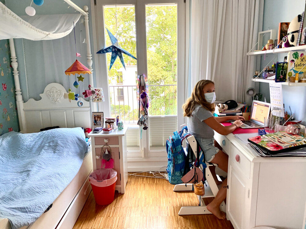 Kind in Quarantäne | berlinmittemom.com