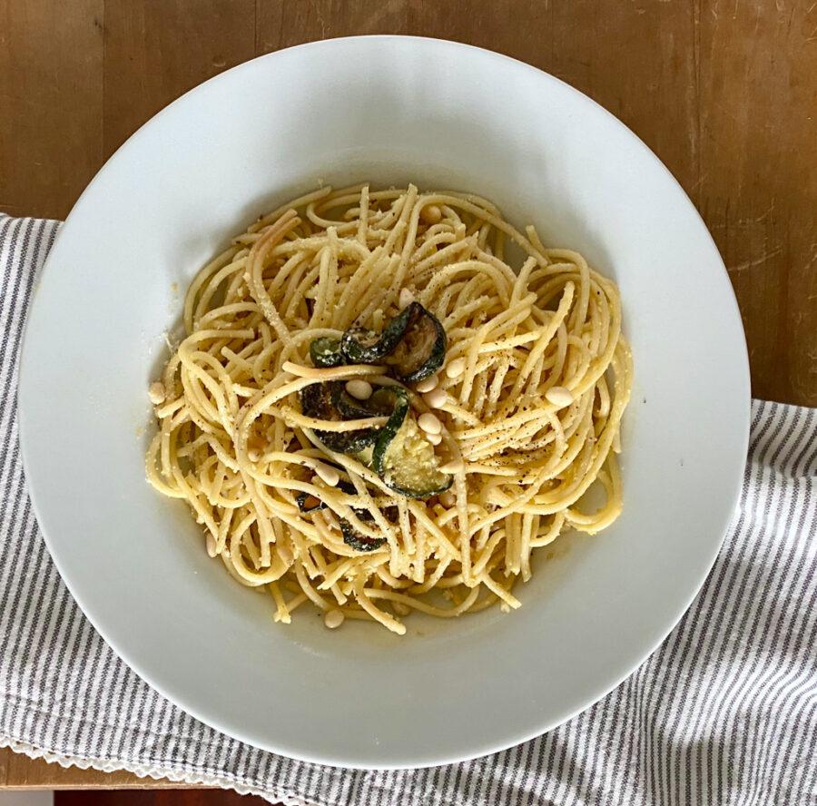 Veggie Carbonara mit Zucchini | berlinmittemom.com