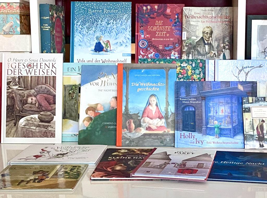 Weihnachtsbücher für Kinder | berlilnmittemom.com