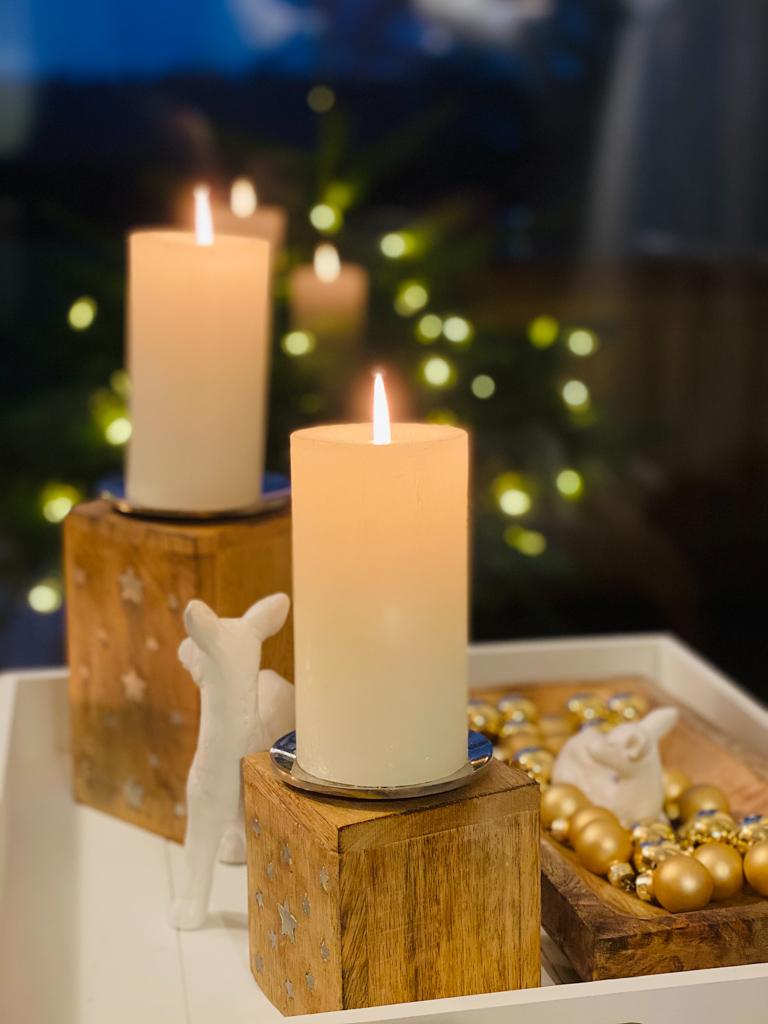 Kerzenlicht im Haus am Meer | berlinmittemom.com
