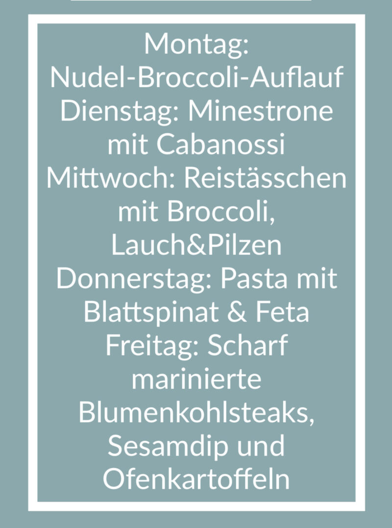 Freitagslieblinge: Mealplan 2 | berlinmittemom.com