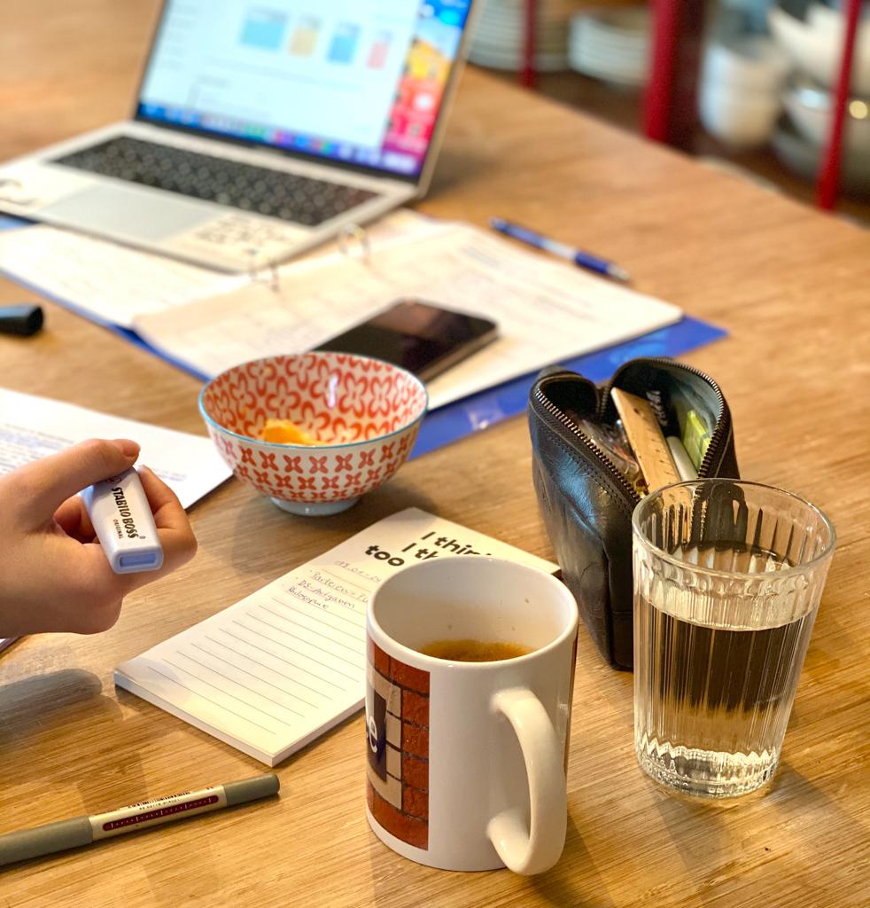 Corona Alltagscheck: Working from home | berlinmittemom.com